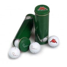 Boite en métal pour balles de golf