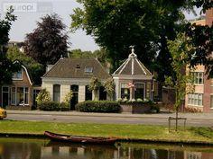 Theekoepel aan de Geestersingel in Alkmaar