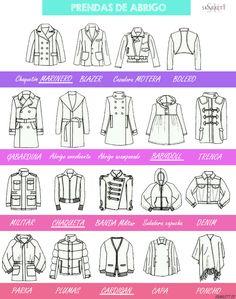Diseño de moda / Cortes de chaqueta y abrigos