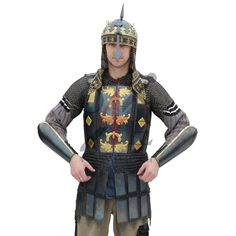 Persian mail-and-plate armor  - Click Image to Close
