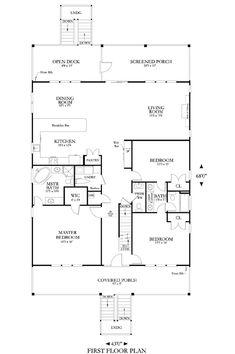Coastal Home Plans - Abalette Cove