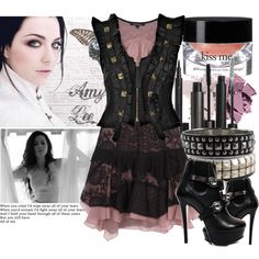 AMY LEE--EVANESCENCE, created by brionessa2008 on Polyvore