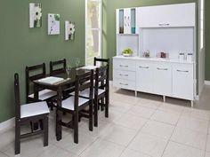 Conjunto de Mesa com 6 Cadeiras Mille - Fritz Móveis com as melhores condições você encontra no Magazine Simply. Confira!