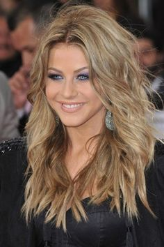 Shaggy Long Hairstyles - Heart Face Shape Haircuts for Women