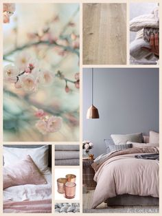 Moodboard bedroom grey blush copper inspiration For office Blush Bedroom, Gray Bedroom, Trendy Bedroom, Bedroom Inspo, Bedroom Colors, Home Bedroom, Bedroom Decor, Blush Grey Copper Bedroom, Bedroom Ideas