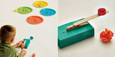 catapulta - Buscar con Google Learning Games, Diy Toys, Crafts For Kids, Triangle, Mandala, School, Google, Games, Catapult