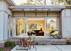 Australian Architecture, Shoreham Beach Shack by Sally Draper Architects, Shoreham, VIC, Australia Cottage, House, Beach House Style, House Exterior, Beach Shack, House Styles, Beach Cottages, Surf Shack, Renovations