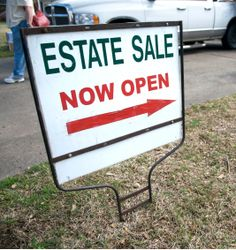 Estate sales are a great way to get rid of things that you don't want, don't need, or just want to change things around in your home.