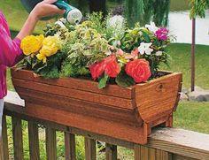 How to Make a Deck Planter