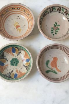 Antique Puebla Bowls   QUITOKEETO