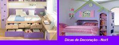 Camas Infantis e Modelos Criativos, Dicas para Quartos de Crianças 1x1.trans