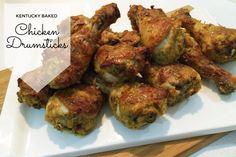 Kentucky Baked Chicken Drumsticks Recipe