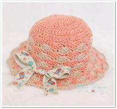 (4) Name: 'Crocheting : Shelly Sunhat