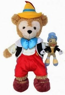 OMG! Pinocchio Duffy with Jiminy! I NEED this!