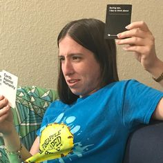 So this girl is celebrating her birthday today so I thought I should throw it back to move out week when we played cards and she got this one. HAPPY 24th BIRTHDAY!!!! #birthdaygirl #sheis24now #roommate #cardsagainsthumanity #flashback #notwcw #becauseican #happy24thbirthday