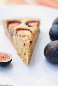 Fig and Almond Cake that is easily adaptable to be gluten-free