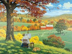 A World of Her Own ~ John Sloane