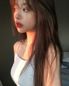 Ulzzang - Fashion - Beauty - Kpop I do NOT post pictures of myself! The girls' names. Ulzzang Korean Girl, Cute Korean Girl, Ulzzang Hair, Korean Aesthetic, Aesthetic Girl, Korean Beauty, Asian Beauty, Mode Instagram, Uzzlang Girl