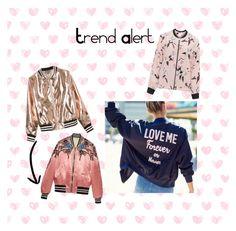 """Trend Alert - Bomber Jacket#"" by camyllarvidal on Polyvore featuring moda, Gucci, Zhenzi e Sans Souci"