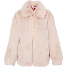This **Emilio Pucci** Faux Fur Jacket features a relaxed fit and pointed collar.