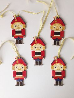 A personal favorite from my Etsy shop https://www.etsy.com/listing/256724737/nutcracer-christmas-decorative-hanging