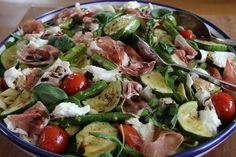 Frisse lentesalade met groene asperges One teaspoon of passion