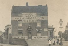 the original Aston Villa Birmingham Shopping, Aston Birmingham, Birmingham Library, City Of Birmingham, Birmingham England, Aston Villa Fc, Walsall, Old Pictures, Glasgow