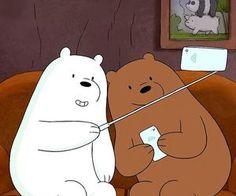 — we bare bears. Bear Wallpaper, Wallpaper Iphone Cute, Disney Wallpaper, Ice Bear We Bare Bears, We Bear, We Bare Bears Wallpapers, Cartoon Icons, Cute Bears, Cute Cartoon Wallpapers