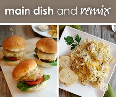 Dinner mixers can help make meal planning easy. Even better? They include fun ways to mix up your leftovers.