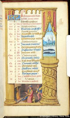 Book of Hours, MS M.1054 fol. 2r - Images from Medieval and Renaissance Manuscripts - The Morgan Library & Museum