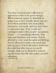 You're Allowed ~❤~  Daniell Koepke [ Lessons Learned In Life ]