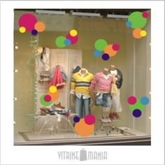 New Clothes Shop Display Ideas Store Windows Ideas Baby Shower Presents, Baby Shower Gifts, Baby Store Display, Spring Window Display, Kids Gate, Chalkboard Doodles, Dance Shops, Store Windows, Kids Store