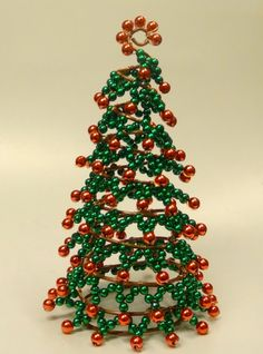 Christmas Tree Tutorial PDF Format  Beaded by FlorenHandicrafts, $6.00