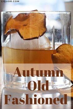 This take on a rum Old Fashioned emphasizes fall flavors with a DIY apple cider syrup. You can also add the syrup to your morning pancakes for some fall flair! New Years Cocktails, Cider Cocktails, Festive Cocktails, Christmas Cocktails, Classic Cocktails, Craft Cocktails, Cocktail Drinks, Fun Drinks, Yummy Drinks