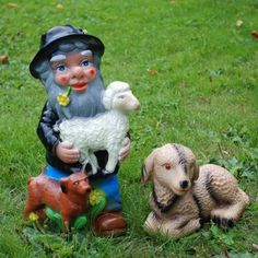 A Shepherd Garden Gnome -- definitely the next purchase for my terrace!!!