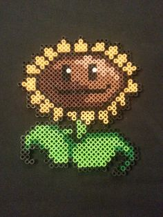 Plants vs Zombies Perler Bead Figures by AshMoonDesigns on Etsy, $4.00 https://www.etsy.com/shop/AshMoonDesigns