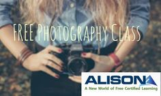 Harvard is offering a FREE 12-module online digital photography class through ALISON as part of their open learning initiative.