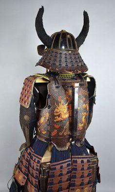 Museum Exhibited Outlandish Edo p Kaga Samurai Armor