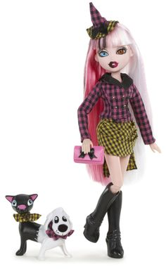 Amazon.com: Bratzillaz Fashion Pack - Changed Up Chic: Toys & Games