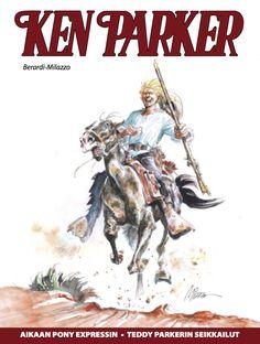 Ken Parker 2/2016 lehtipisteissä 25.5.2016! #KenParker #western #sarjisklassikko