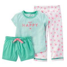 Carter's Striped Graphic Pajama Set - Toddler Girl
