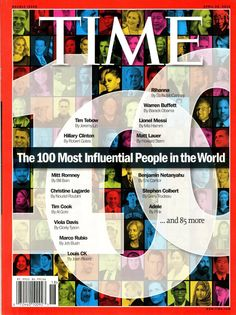 TIME MAGAZINE 2012 100 Most Influential People in the World
