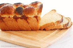 Braided milk loaf