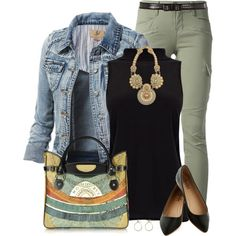 """Cargo Pants"" by daiscat on Polyvore"