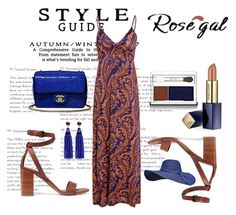 """maxi dresses"" by nezahat-kaya on Polyvore featuring moda, Vince, Chanel, Kenneth Jay Lane, Estée Lauder, Clinique, Bohemian ve rosegal"