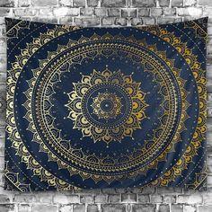 #RoseGal - #Rosewholesale Wall Hanging Art Decor Mandala Print Tapestry - AdoreWe.com