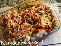Meksykańskie schabowe Polish Recipes, Polish Food, Pork Recipes, Cheddar, Cabbage, Grains, Rice, Vegetables, Impreza