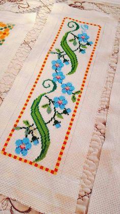 The most beautiful cross-stitch pattern - Knitting, Crochet Love Cross Stitch Letters, Cross Stitch Art, Cross Stitch Borders, Cross Stitch Samplers, Cross Stitch Flowers, Modern Cross Stitch, Cross Stitch Designs, Cross Stitching, Cross Stitch Embroidery