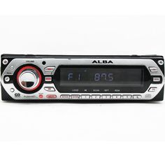Alba ICS102 car stereo CD player flip front RDS EON 2 x line IN/OUT #Alba