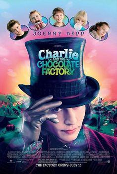 Download - Filme - A Fantástica Fábrica de Chocolate  (Charlie and the Chocolate Factory)   Um filme de fantasia de 2005 dirigido por Tim Burton.